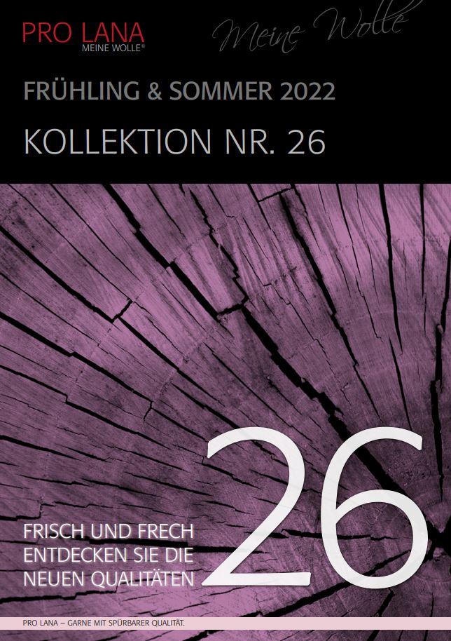Katalog 26 Frühjahr-Sommer-Kollektion 2022