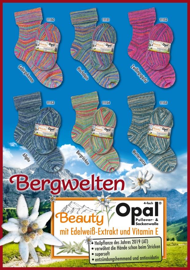 Opal Beauty Bergwelten 4f. 100g.